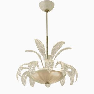Chandelier from Barovier & Toso, 1930s, Murano, Italy