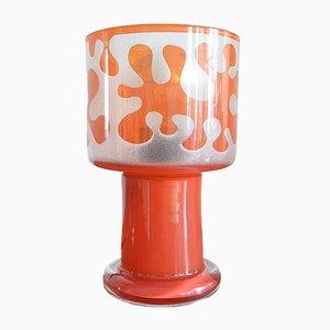 Swedish Glass Lamp by Ove Sandeberg for Kosta Boda, 1960s