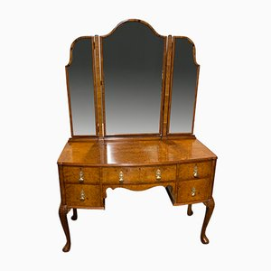 Burr Walnut Dressing Table from Maple & Co.