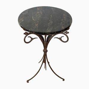Gueridon Dreibein Tisch aus Eisen