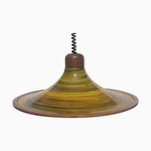 Pendant Lamp from Temde, Switzerland, 1970s