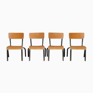 Chaises pour Enfant Industrielles, Set de 2