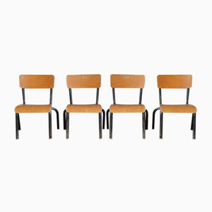 Industrial Children's Chairs, Set of 2