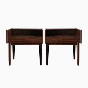 Scandinavian Bedside Tables by Melvin Mikkelsen, 1960s, Set of 2