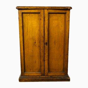 Antique Pine Medical Cabinet in the Style of Joseph Maina Mungai, 1900s