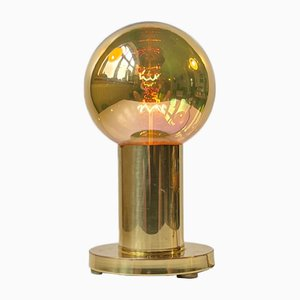 Mid-Century Spy Ball Table Lamp in Brass from Frimann, 1960s
