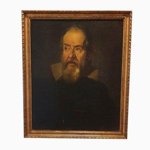 Galileo Galilei, Öl auf Leinwand