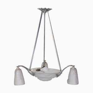 French Chandelier from Freres, 1920s