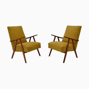 Mid-Century Armchairs by Jiri Jiroutek, 1960s, Set of 2