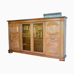 Wooden Living Room Cabinet, 1980s