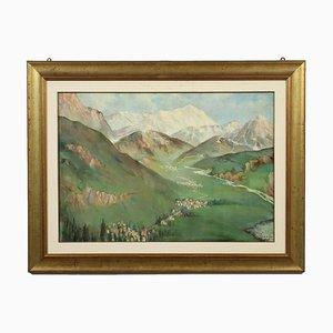 La Conca Di Sappada, Oil on Faesite