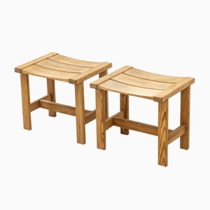 Trybo Stools by Edvin Helseth, Set of 2