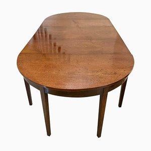Large 18th Century George III Mahogany Dining Table