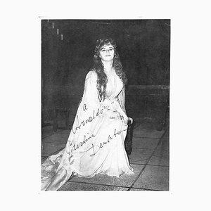 Unbekannt, Cristina Deutekom Autogrammkarte, 1960