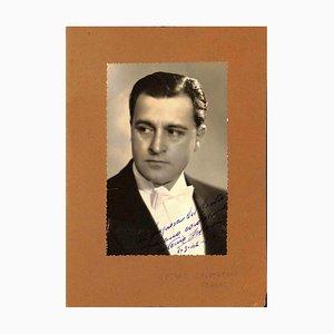 Unknown, Antonio Salvarezza Autographed Photocard, 1942