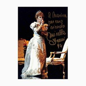 Unbekannt, Mirella Freni Autogramm, 1994