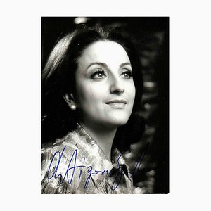 Unbekannt, Antigone Sgourda Autogramm, 1970
