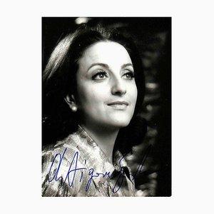 Unknown, Antigone Sgourda Autographed Photograph, 1970