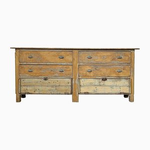 Antique French Bank of Drawers