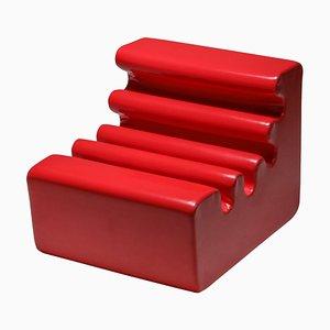 Roter Karelia Sessel von Liisi Beckmann für Zanotta