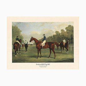 Jf. Herring Senior, Goodwood Gold Cup 1834, Colour Offset, 1972