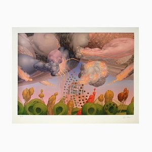 Wolfgang Hutter, The Garden and the Burning House, Giclée Print, 2014