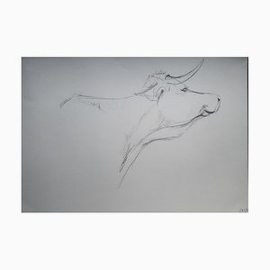 Chroessi Schnell, Cows VI, Drawing, 2007-2010