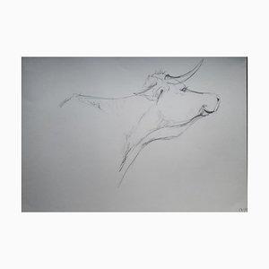 Chroessi Schnell, Cows VI, Zeichnung, 2007-2010