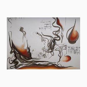 Chroessi Schnell, Schizophrenic Landscape, Landscape Drawing, 2008 / 2009