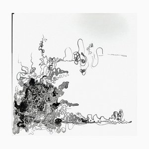 Chroessi Schnell, Lefthand Compositions, Abstract and Natural Forms Drawings, 2008/2009
