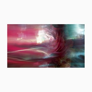 Anna Golovanova, Flower Pink Blue, Digital Photographic Art, 2020