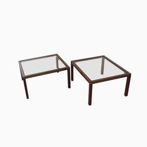 Tables d'Appoint par Pierre Vandel, 1970s, Set de 2