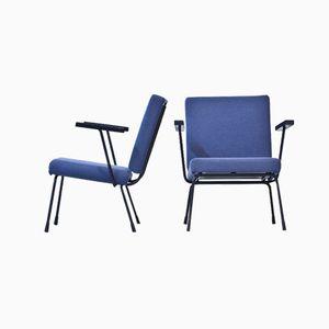 1401 Armlehnstühle von Rietveld für Gispen, 2er Set