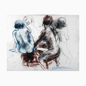 Wim Van Broekhoven, Study 1 Nude, 2019