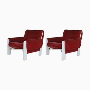 Sporting Lounge Chairs by Ammanati and Calves for Rossi of Albizzate