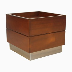 Rosewood and Metal Planter, 1978