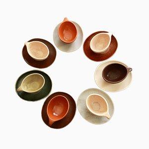 Set da caffè Raymor di Ben Seibel per Roseville Pottery, 1952