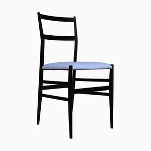 Mid-Century Italian Mahogany & Ashwood 699 Leggera Chair from Cassina, 1957