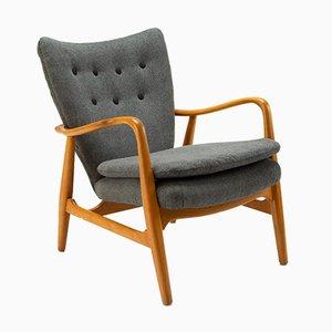 MS6 Stuhl von Arnold Madsen und Henry Schubell, Dänemark, 1950er