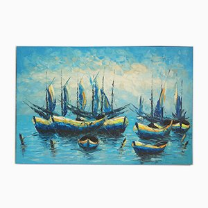Boats Painting, 2000s