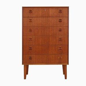 Mid-Century Teak Veneer Dresser, 1960s