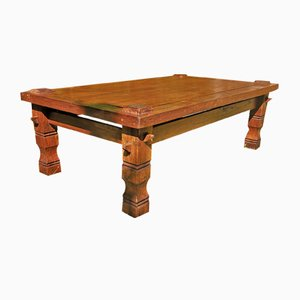 Coffee Table in Sustainable Solid Oak, 1950s