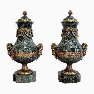 Vases Balustres Style Louis XVI, 19ème Siècle, Set de 2