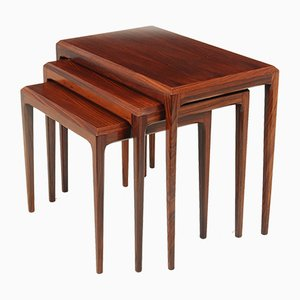 Mid-Century Nesting Tables by Johannes Andersen, Set of 3