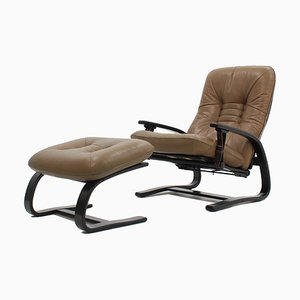 The Panter Reclining Armchairs from Westnofa, 1970s, Set of 2