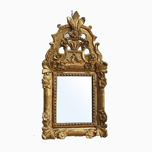 Small Regency Style Mirror, Late 19th-Century