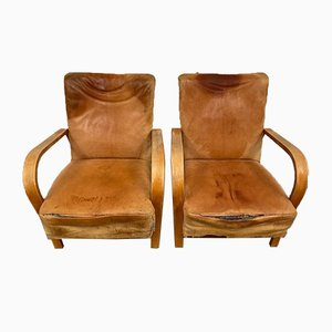 Armchairs by Kropacek & Kozelka for Interier Praha, Set of 2