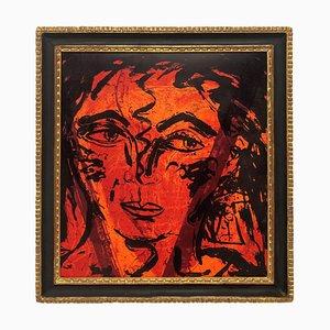 Mid-Century Italian Framed Lithograph
