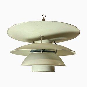 Lámpara de techo danesa de Louis Poulsen, años 50