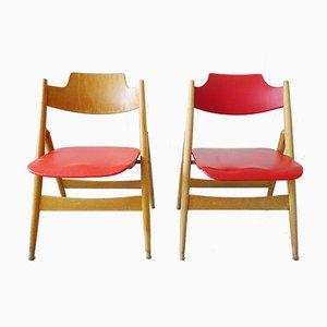 Model Se18 Folding Chairs by Egon Eiermann for Wild + Spieth, Set of 2